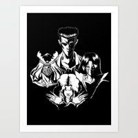 The March of the Toguro Team Art Print