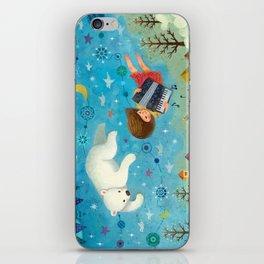 Travel the night sky iPhone Skin