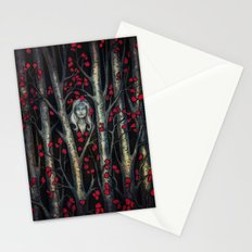 Night so Dark, Where are you? Stationery Cards
