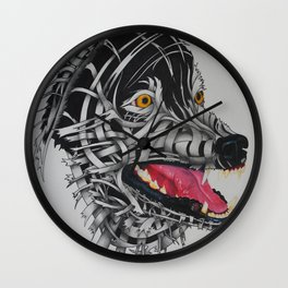 Hungry Like A Wolf Wall Clock