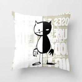minima - milieu Throw Pillow