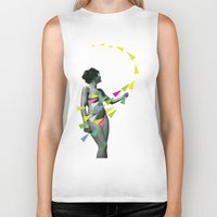 erotic Biker Tanks featuring She's a Whirlwind by Cassia Beck