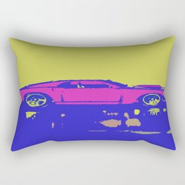 lazer mustang Rectangular Pillow