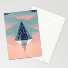 Enlightened Mountain Stationery Cards