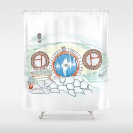 Dugout Shower Curtain