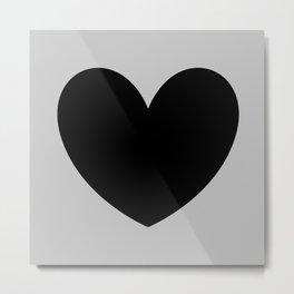 i heart u Metal Print