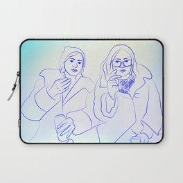 Friends & Beers & Blunts Laptop Sleeve