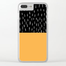 Raining Clear iPhone Case