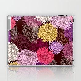 Autumn garden of chrysanthemums Laptop & iPad Skin