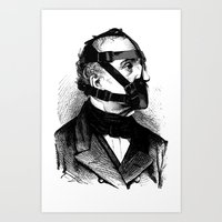 bdsm Art Prints featuring BDSM XXXX by DIVIDUS