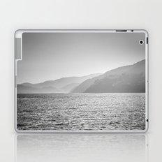 Sea and foggy mountains Laptop & iPad Skin