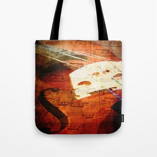 Suite Music Tote Bag