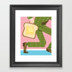 Breakfast on the Go Framed Art Print