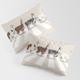 Llama The Abbey Road #2 Pillow Sham