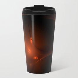 Seamless Background Fractal Travel Mug