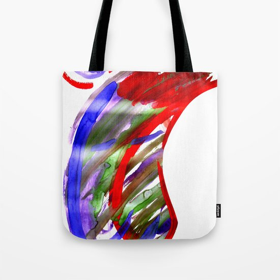 Face and a moon Tote Bag