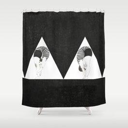 Am I weird or Flexible? Shower Curtain