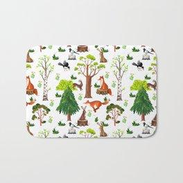 Forest Life Bath Mat
