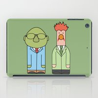 muppets iPad Cases featuring Bunsen & Beaker – The Muppets by Big Purple Glasses
