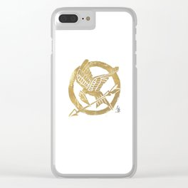 Mocking Jay Clear iPhone Case