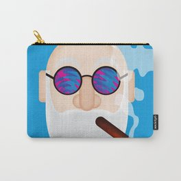 Smoking Man Carry-All Pouch