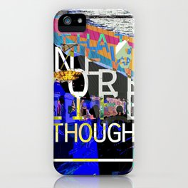 """""""That New York Life Though"""" iPhone Case"""