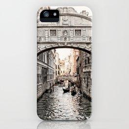 Bridge of Sighs, Venice, Italy (Lighter Version) iPhone Case
