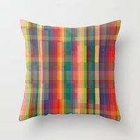 cracked Throw Pillows featuring Cracked by datavis/pwowk
