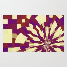 Raster kaleidoscope n° 5 Rug