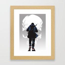 Closer to death Framed Art Print