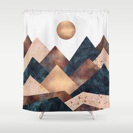 Autumn Peaks Shower Curtain