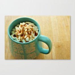 Latte Canvas Print