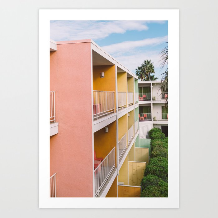 Palm Springs Vibes II Art Print