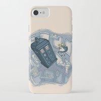 hallion iPhone & iPod Cases featuring Falling by Karen Hallion Illustrations