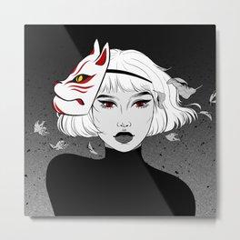 DaJi, the fox spirit Metal Print
