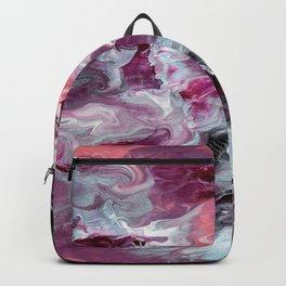 Raspberry Marble Backpack