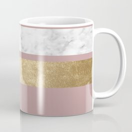 Mauve in the night marble Coffee Mug
