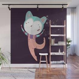 Dance Dreams (Purple) Wall Mural
