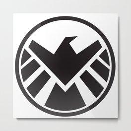 Agents of Shield Metal Print
