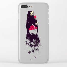 Death Valentine Gift Clear iPhone Case