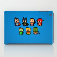 aquaman iPad Cases featuring JLA by CromMorc