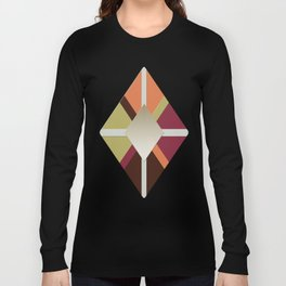 Colors Triangles Long Sleeve T-shirt