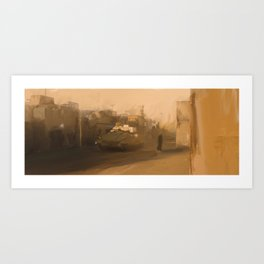 No place to be. Art Print