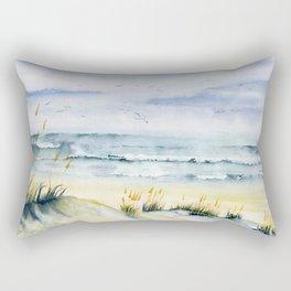 Beach is Calling Rectangular Pillow