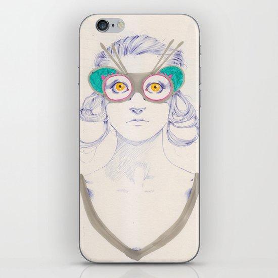 Untitled drawing iPhone & iPod Skin