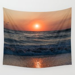 Canaveral Seashore Sunrise Wall Tapestry