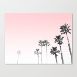 Tranquillity - pink sky Canvas Print