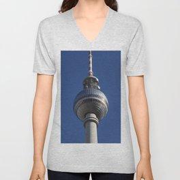 Berlin Fernsehturm Unisex V-Neck