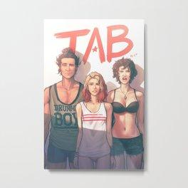 TAB - Bad Bed Head Metal Print