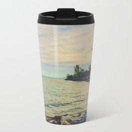 Shore front Metal Travel Mug